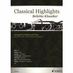 Schott Classical Highlights Clarinet