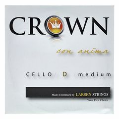 Crown By Larsen Cello String D Medium 4/4