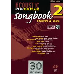 Edition Dux Acoustic Pop Guitar Songbook 2