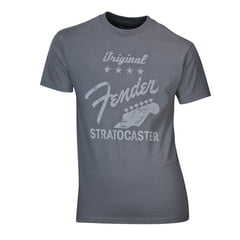 "Fender T-Shirt ""Stratocaster"" Grey XL"