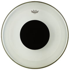 "Remo 22"" Powerstroke 3 Clear Dot"