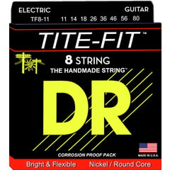 DR Strings Tite TF 8-11 8-String Set