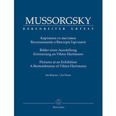 Bärenreiter Mussorgsky Bilder Ausstellung