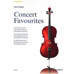 Schott Concert Favourites Cello