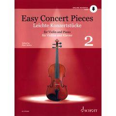 Schott Easy Concert Pieces Violin 2