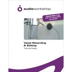 Audio Workshop Vocal Recording Tutorial DVD