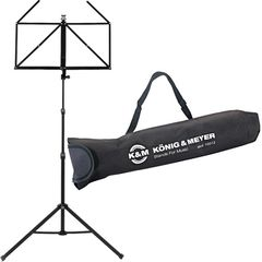 K&M 10065 Music Stand Black Set