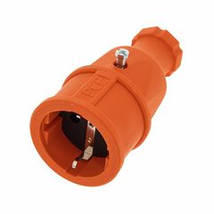 PCE Rubber Safety Socket EU Orange