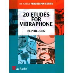 De Haske 20 Etudes For Vibraphone