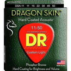 DR Strings Dragon Skin Acoustic 11-50