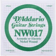 Daddario NW017 Single String
