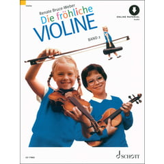 Schott Die Fröhliche Violine Vol.2+CD