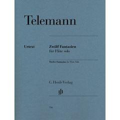 Henle Verlag Telemann Zwölf Fantasien Flöte