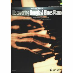 Schott Discovering Boogie Blues Piano
