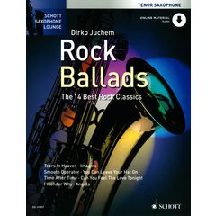 Schott Rock Ballads Tenor Saxophone