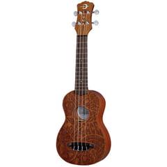Luna Guitars Ukulele Peace Love