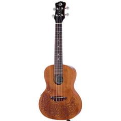 Luna Guitars Ukulele MO Mahogany Electric