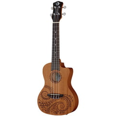 Luna Guitars Ukulele Concert Tattoo PU
