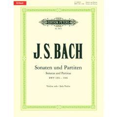 C.F. Peters Bach Sonatas Partitas Violin