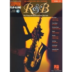 Hal Leonard Saxophone Play Along R&B