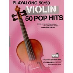 Wise Publications Playalong 50/50: Violin