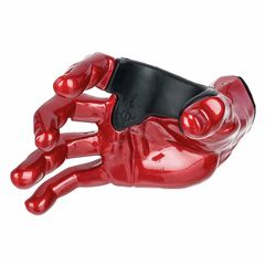 Guitar Grip Red Metallic Male Hand right