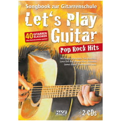 Hage Musikverlag Let's Play Guitar Pop Rock Hit