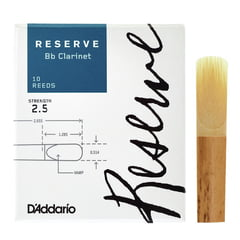 DAddario Woodwinds Reserve Clarinet 2,5