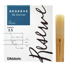 DAddario Woodwinds Reserve Clarinet 3,5