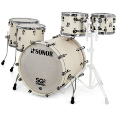 Sonor SQ2 Rock Set Beech Creme White