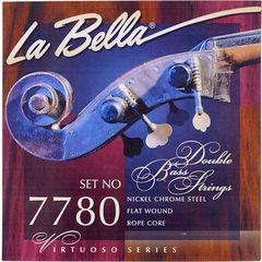 La Bella 7780 Double Bass Strings 3/4