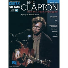 Hal Leonard Guitar Play-Along Clapton Unpl