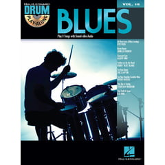 Hal Leonard Drum Play-Along Blues