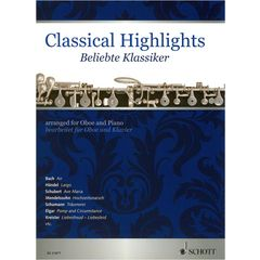 Schott Classical Highlights Oboe