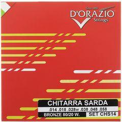 Dorazio CHS14 Chitarra Sarda Strings