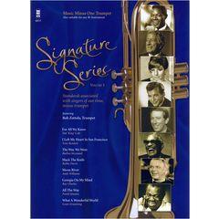Music Minus One Signature Series Vol.1 Trumpet