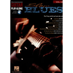 Hal Leonard Guitar Play-Along Slow Blues