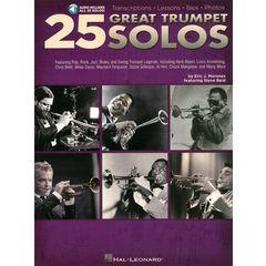 Hal Leonard 25 Great Trumpet Solos