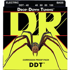 DR Strings Drop-Down Tuning 40-100