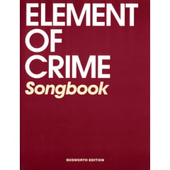 Bosworth Element Of Crime: Songbook
