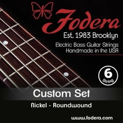 Fodera 6-String Set Medium Nickel