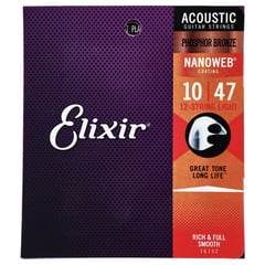 Elixir Nanoweb Light 12 Str. Phosphor