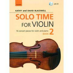 Oxford University Press Solo Time For Violin Book 2