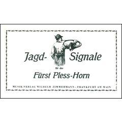Zimmermann Verlag Jagd-Signale Fürst-Pless-Horn
