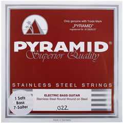 Pyramid 7 String Bass Set SSSL 022-128