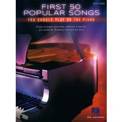 Hal Leonard First 50 Popular Songs Piano