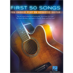 Hal Leonard First 50 Songs Acoustic Guitar