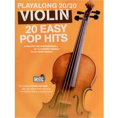 Wise Publications Playalong 20/20 Violin: Easy