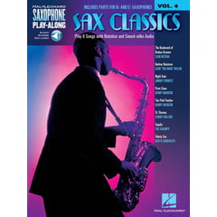 Hal Leonard Saxophone Play-Along Classics