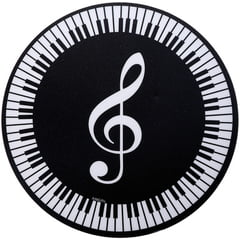 AIM Gifts Mouse Pad Treble Clef/Keyboard